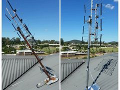 Replaced corroded tripod mount Coomera QLD