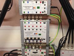 Hills SwitchMaster MATV hub signal distribution system and amplifier